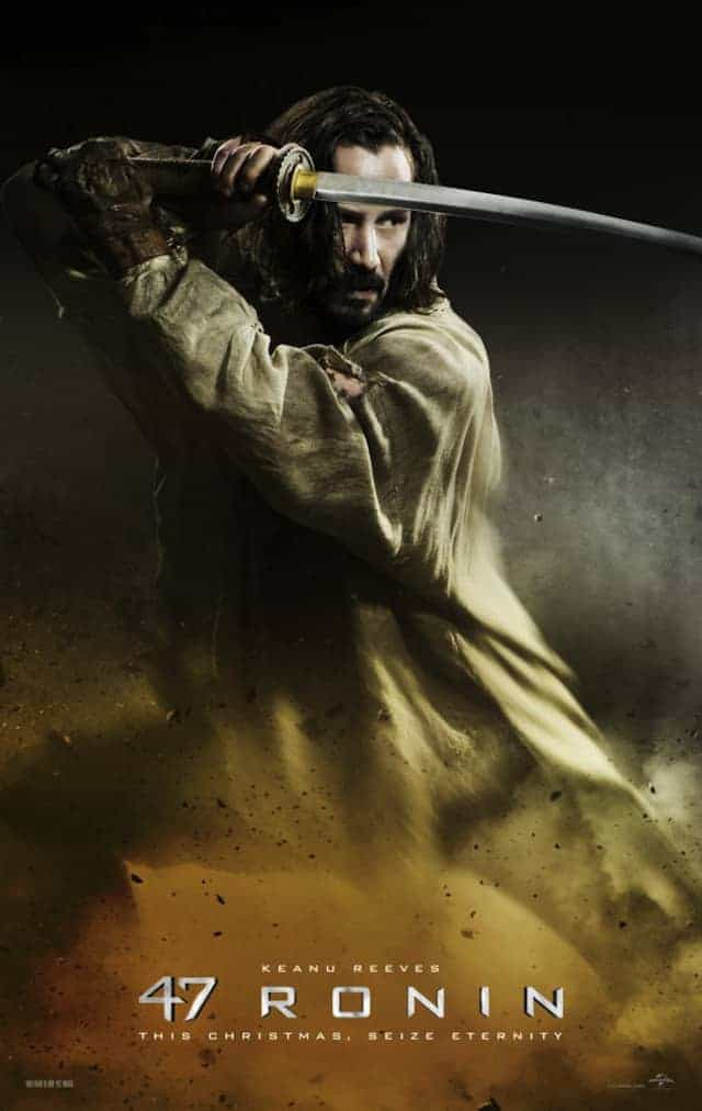 47 ronin character posters