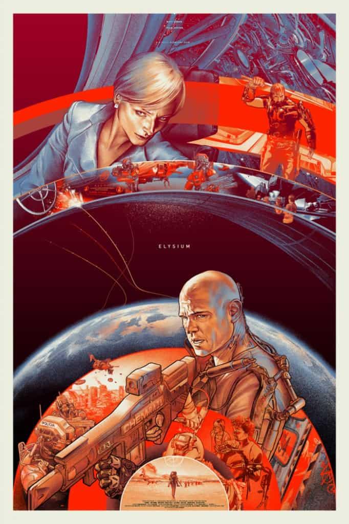 elysium mondo poster regular