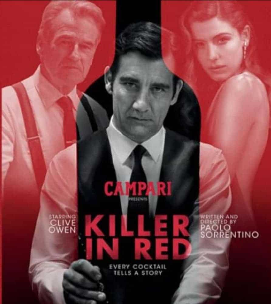 Short Film: Clive Owen Stars in Paolo Sorrentino's KILLER IN RED 1