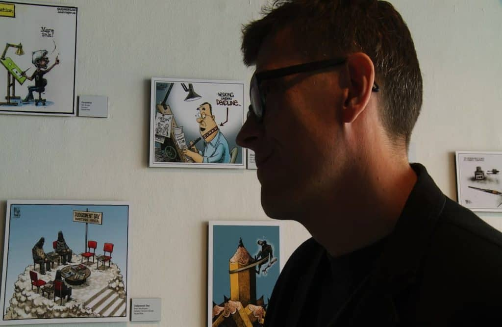 Slamdance 2018: MR. FISH: CARTOONING FROM THE DEEP END Review 2