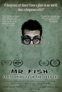 Slamdance 2018: MR. FISH: CARTOONING FROM THE DEEP END Review 1