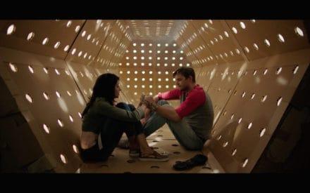 DAVE MADE A MAZE - Meera Rohit Kumbhani and Nick Thune in the Kubrick corridor