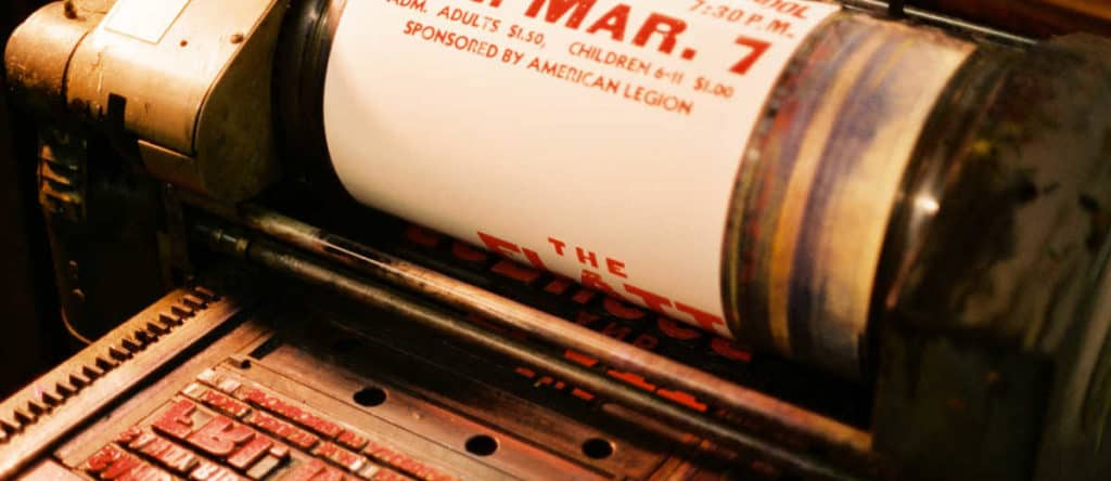 PRESSING ON: THE LETTERPRESS FILM Review 3