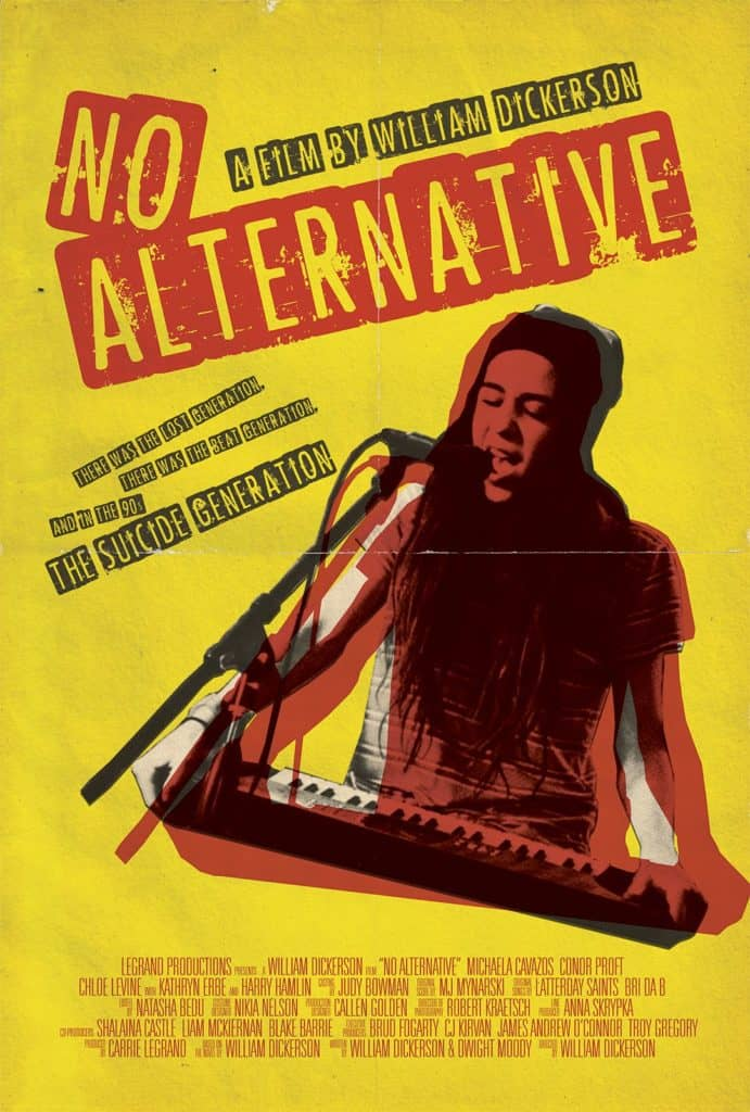 Interview: Director William Dickerson Talks NO ALTERNATIVE 1