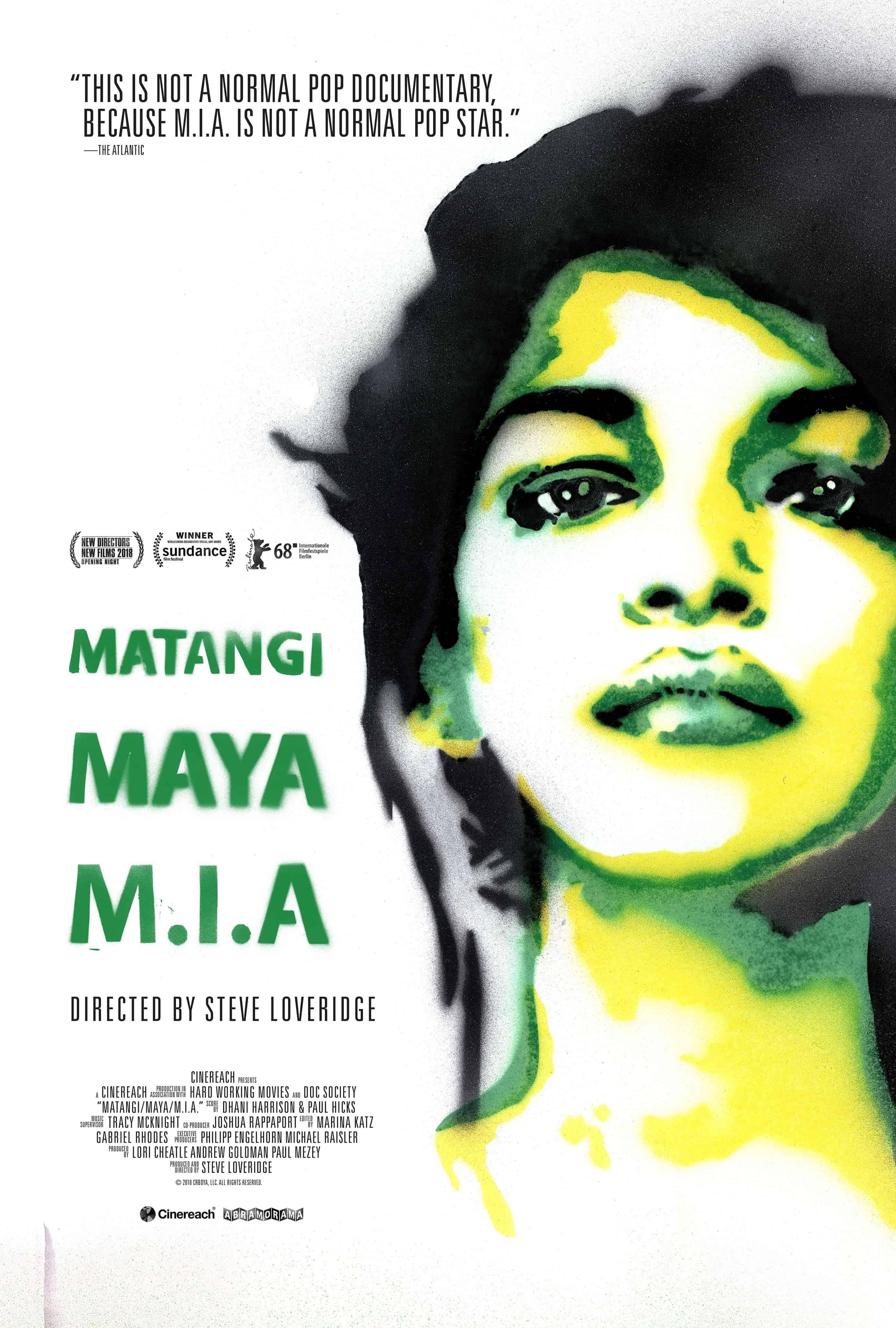 MATANGI / MAYA / M.I.A. Gets a Trailer 1