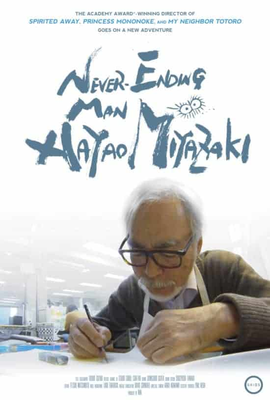 Hayao Miyazaki Doc NEVER-ENDING MAN Gets a New Trailer 1