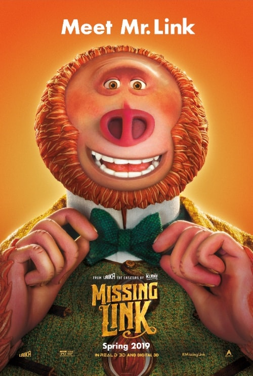Laika's THE MISSING LINK Gets a Trailer 1