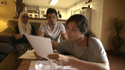 4. The Feeling of Being Watched - Assia shows FBI documents to her family