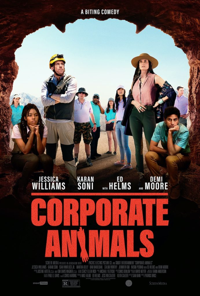 Patrick Brice's CORPORATE ANIMALS Gets a Trailer 1