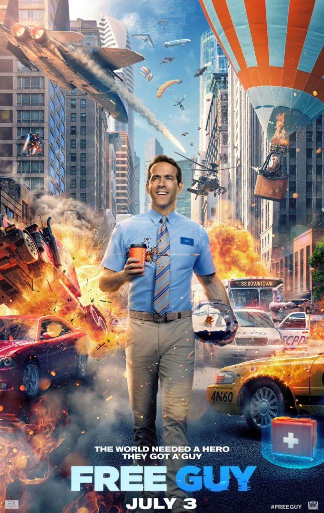 FREE GUY Starring Ryan Reynolds Gets a Trailer 1
