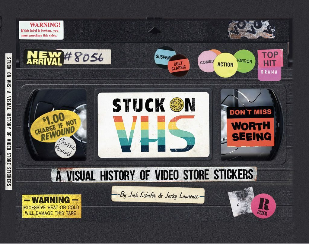 Alamo Drafthouse Launches Publishing Arm with Video Store Sticker History Book 1