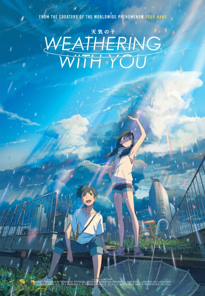 Makoto Shinkai's WEATHERING WITH YOU Gets a Clip 1