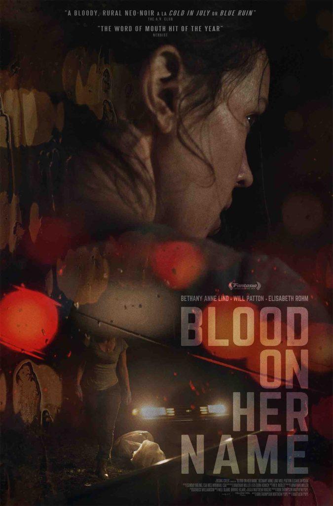 Thriller BLOOD ON HER NAME Gets a Trailer 1