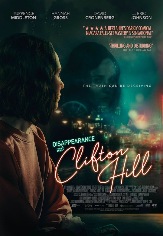 DISAPPEARANCE AT CLIFTON HILL Gets a Trailer 1