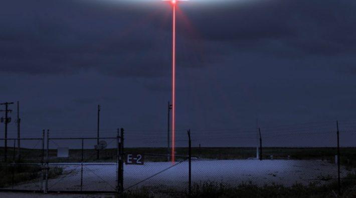 UFO Laser Beam Nuclear Silo