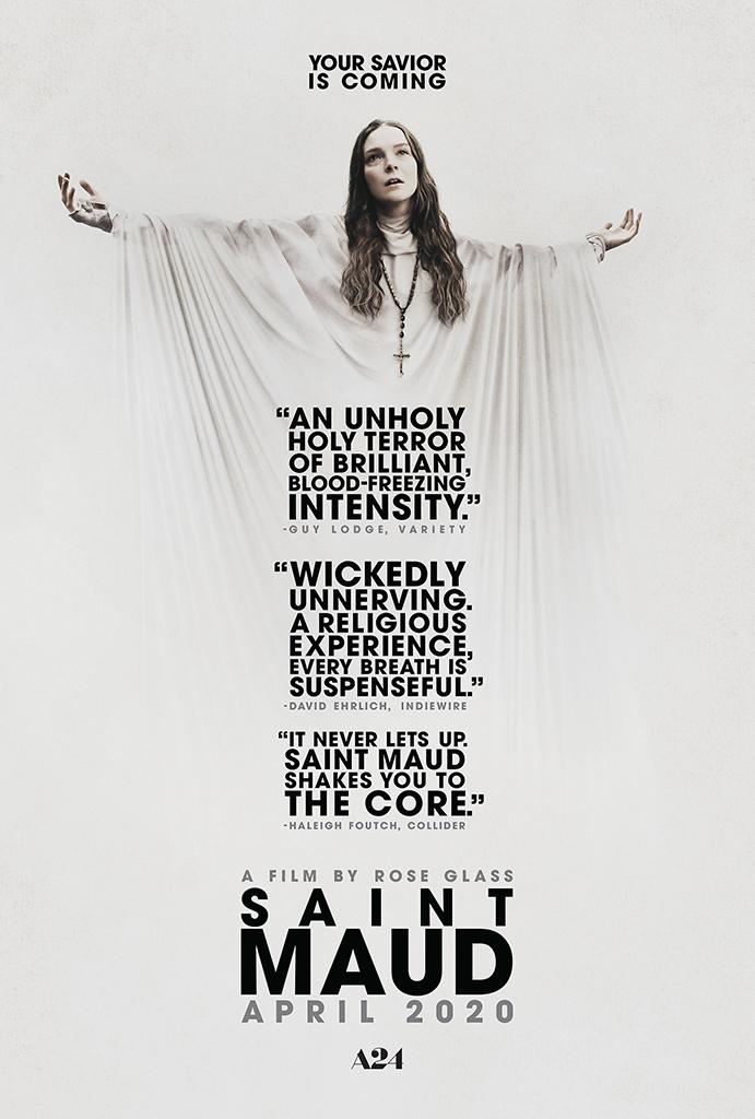 SAINT MAUD Gets a Creepy New Promo for Ash Wednesday 1
