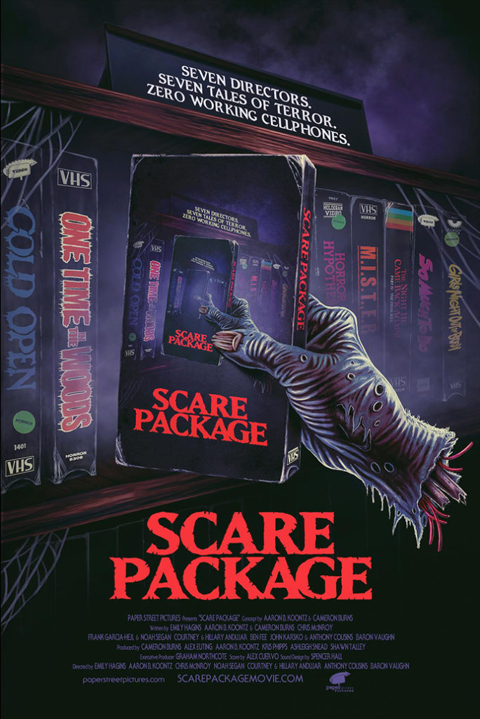 Horror-Comedy Anthology SCARE PACKAGE Trailer and Poster 1