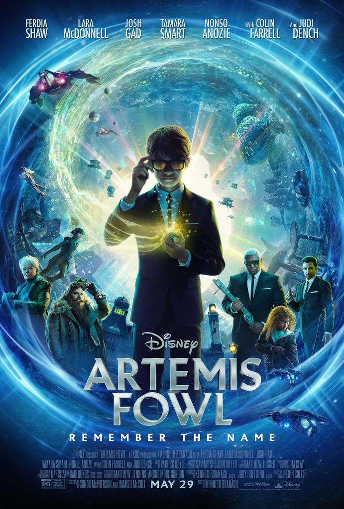 Disney's ARTEMIS FOWL Trailer and Poster 1