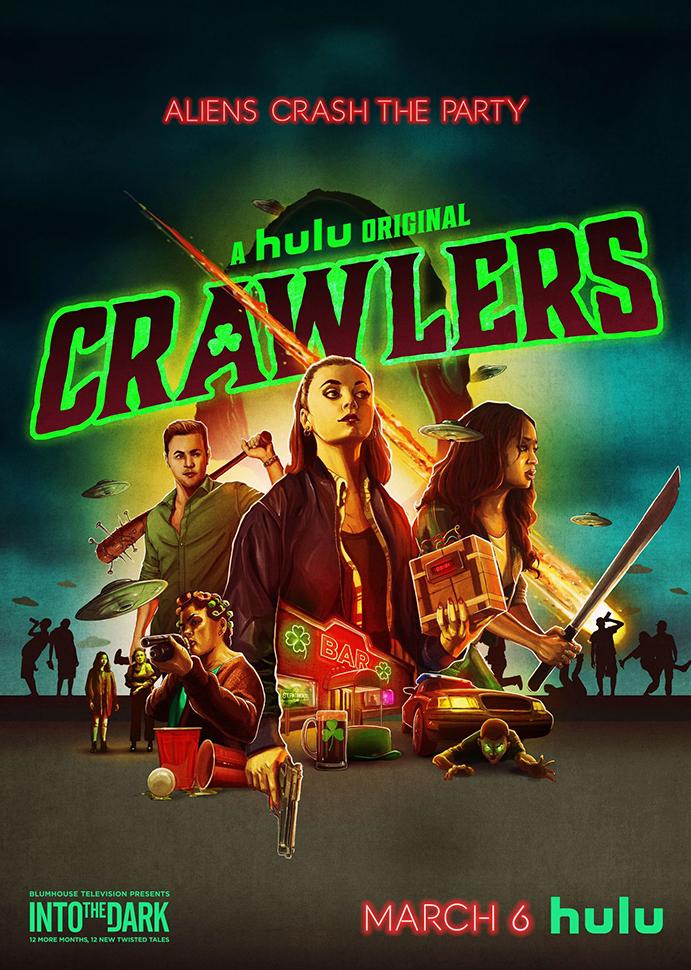 INTO THE DARK: CRAWLERS Trailer 1