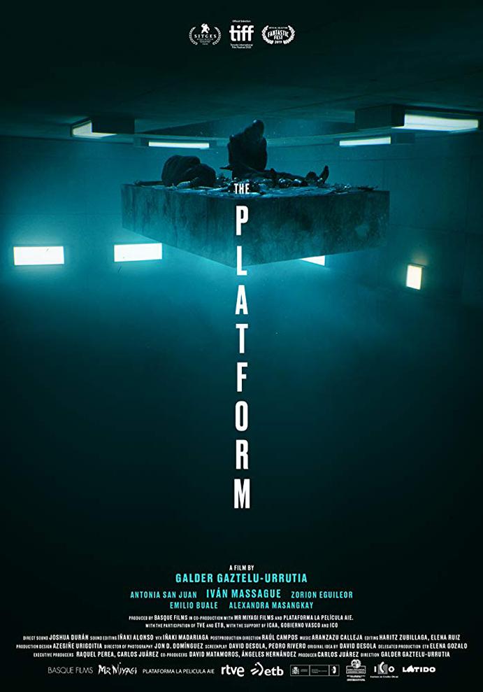 Netflix's THE PLATFORM Trailer 1