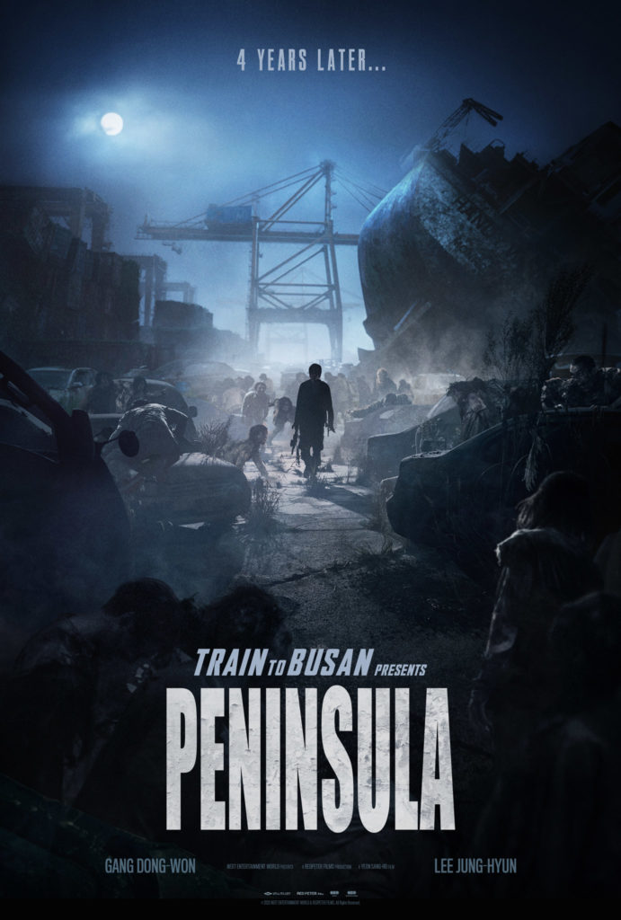 TRAIN TO BUSAN Sequel PENINSULA Teaser Trailer 1