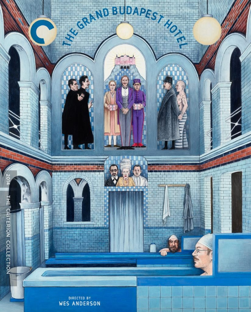 Win THE GRAND BUDAPEST HOTEL on Criterion Collection Blu-ray 2