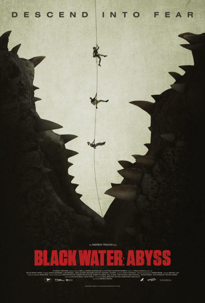 Killer Croc Movie BLACK WATER: ABYSS Trailer | Film Pulse