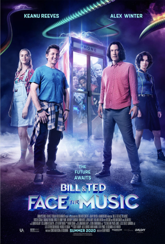 BILL & TED FACE THE MUSIC Trailer and Poster 1