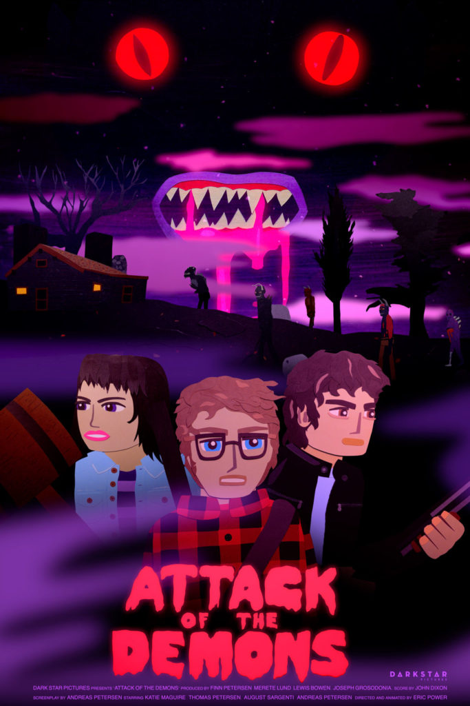 Animated Horror Film ATTACK OF THE DEMONS Trailer 1