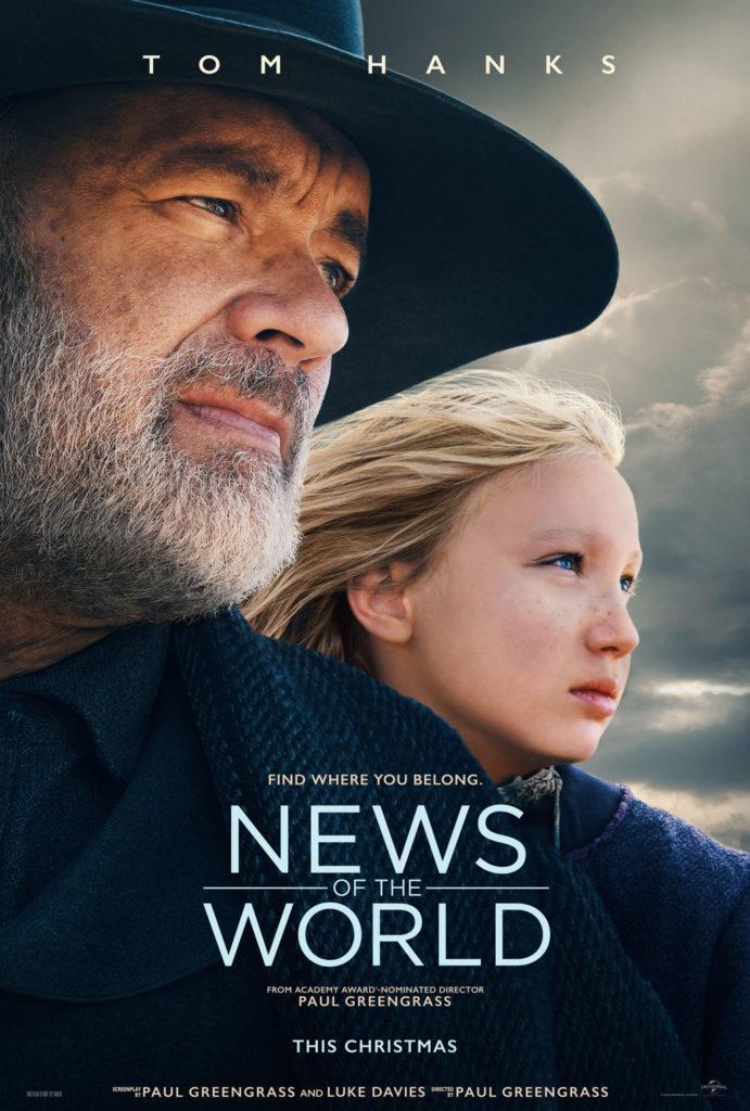 NEWS OF THE WORLD Trailer Starring Tom Hanks 1