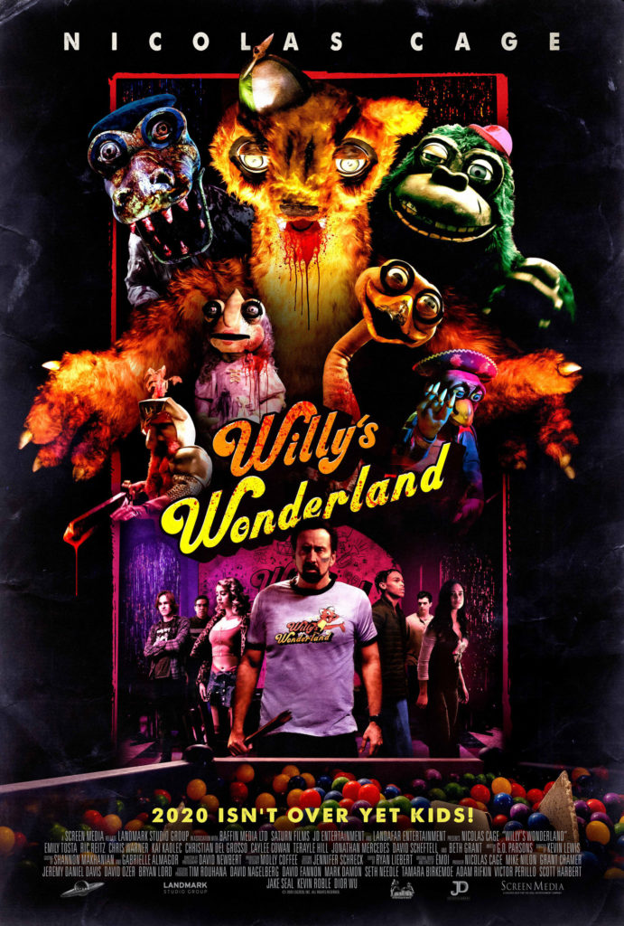 WILLY'S WONDERLAND Starring Nicolas Cage Gets a New Trailer 1
