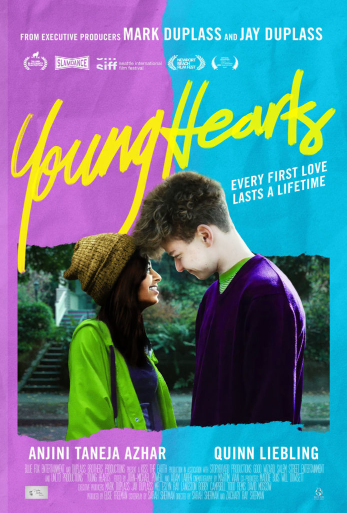 Sarah and Zachary Ray Sherman's YOUNG HEARTS Gets a Trailer 1