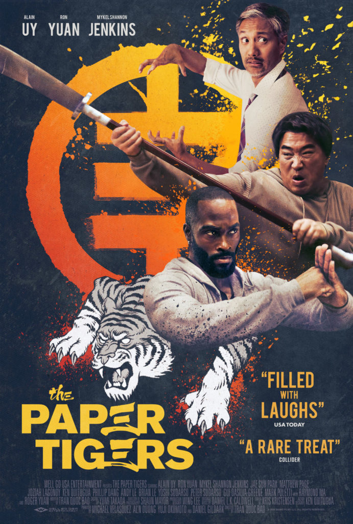 Action Comedy THE PAPER TIGERS Gets a Trailer 1