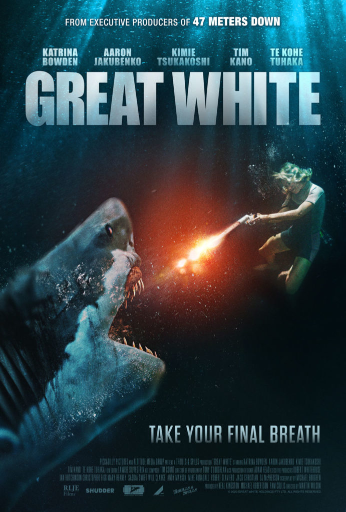 Thriller GREAT WHITE Gets a Trailer 1