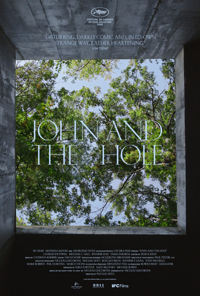 Pascual Sisto's JOHN AND THE HOLE Gets a Trailer 1